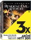 3x Akční hity 2011: Resident Evil: Afterlife, Světová invaze, Rallye smrti 2