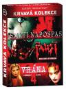 Krvavá kolekce: Smrti napospas + Faust: Smlouva s ďáblem + Vrána 4: Pekelný kněz