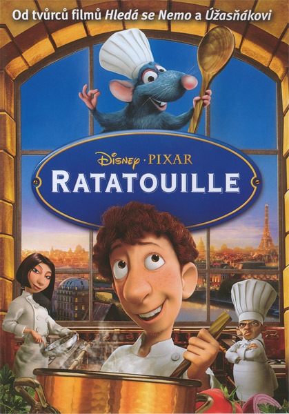 DVD obaly | Ratatouille