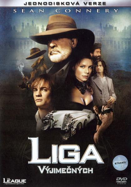 Obal DVD: Liga výjimečných