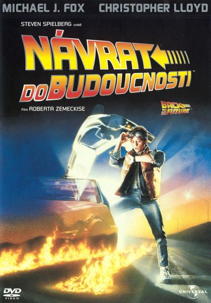 Obal DVD: Návrat do budoucnosti
