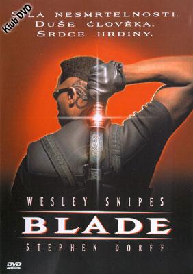 Obal DVD: BLADE (není dlouhodobě skladem)