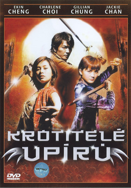 Obal DVD: Krotitelé upírů