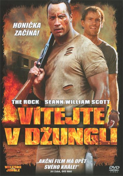 Obal DVD: Vítejte v džungli