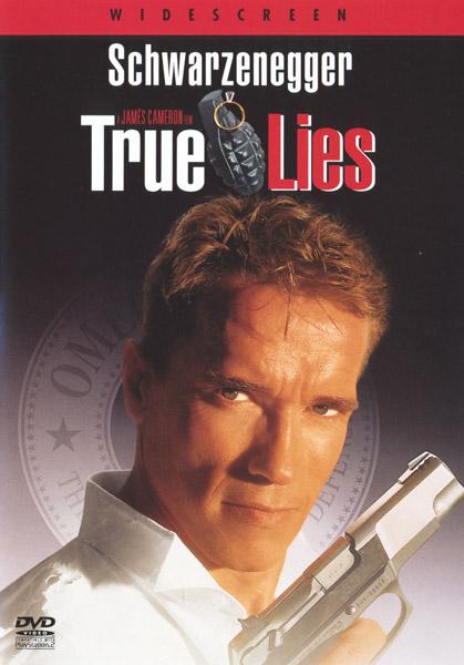 Obal DVD: Pravdivé lži