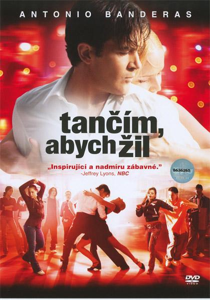 Obal DVD: Tančím, abych žil
