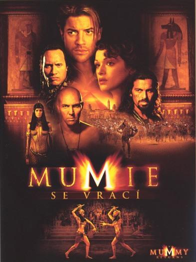 Obal VHS: Mumie se vrací