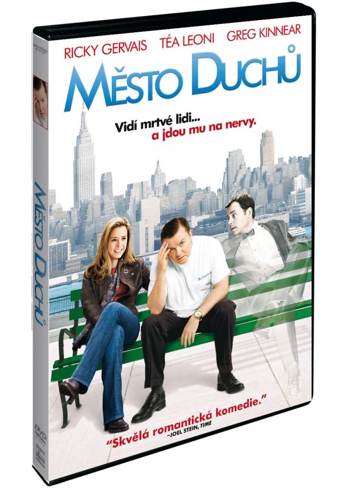Obal DVD: Město duchů (2008)