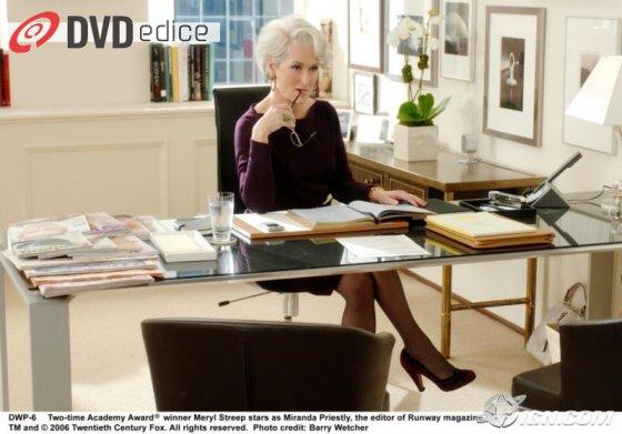DVD: Ďábel nosí Pradu