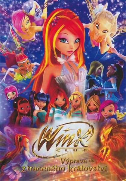 Obal DVD: Winx club: Výprava do ztraceného království